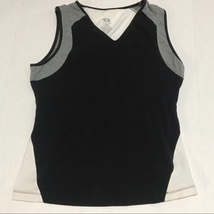 Athletic Works Color Block Sleeveless Workout Top